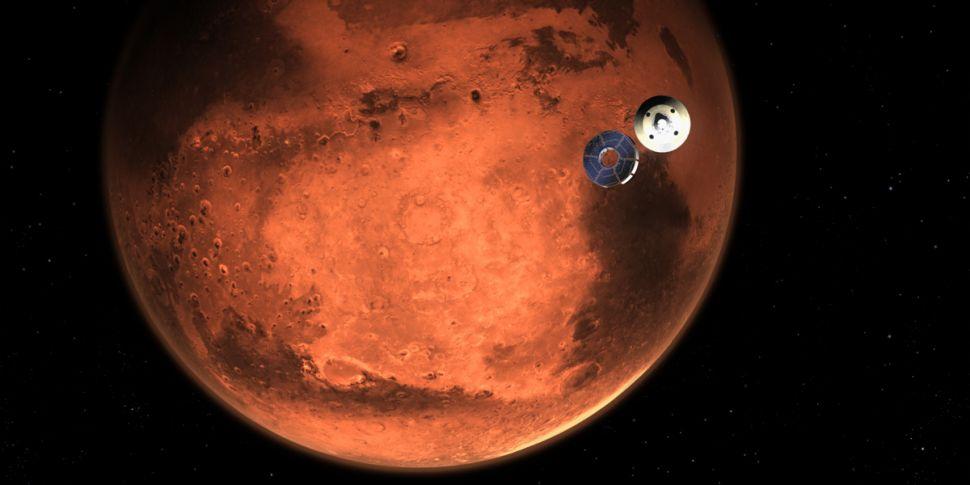 NASA Rover 'Perseverance' To T...