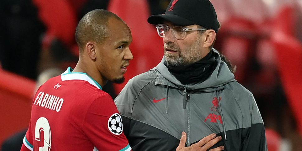 Fabinho out for Liverpool but...