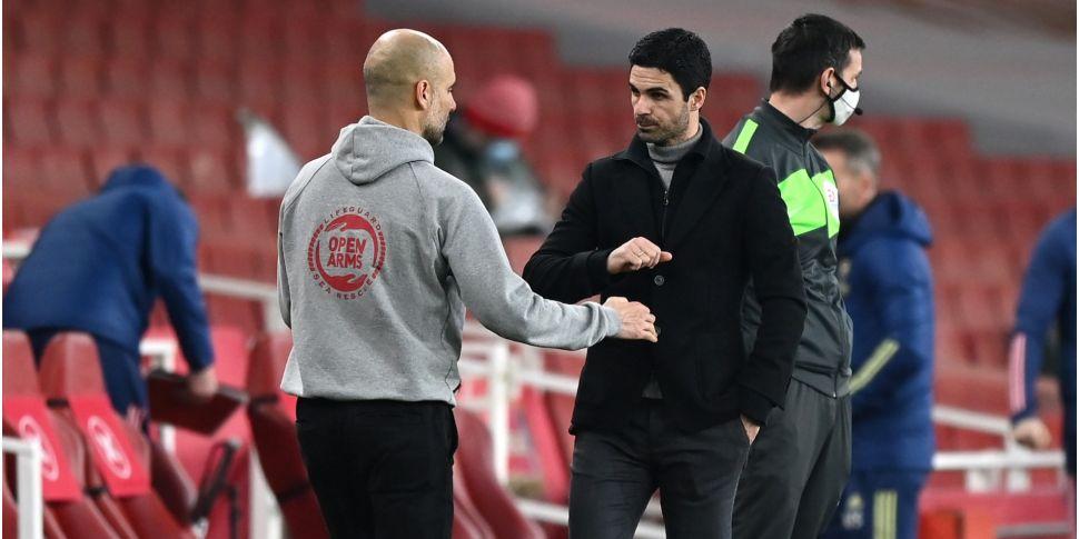 Guardiola hails 'clever' Artet...