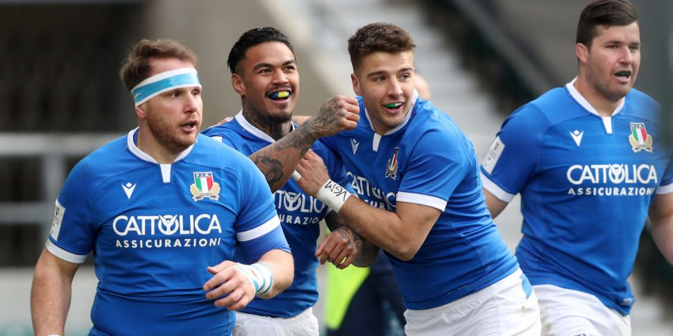 Farrell defends Italy's place...