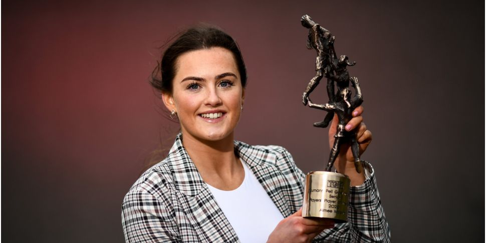Aimee Mackin player of the yea...