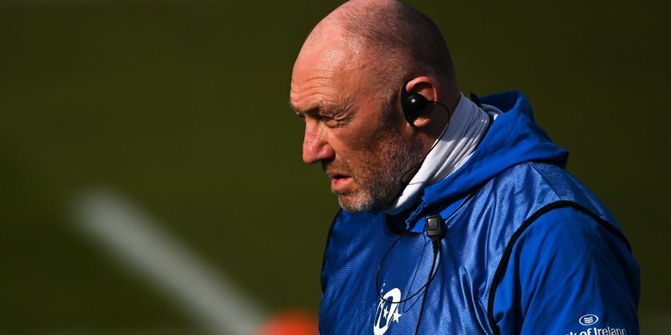 Leinster's Robin McBryde named...