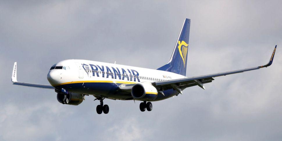Ryanair Flight From Dublin Mad...