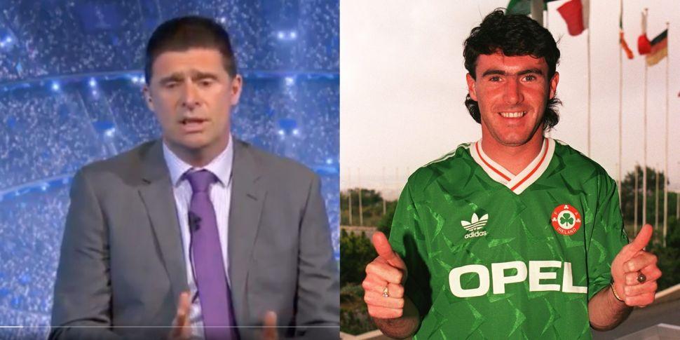 WATCH: Niall Quinn pays touchi...
