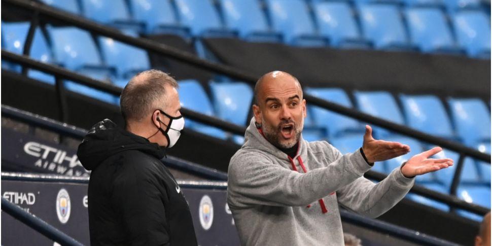'It's a penalty'   Guardiola l...