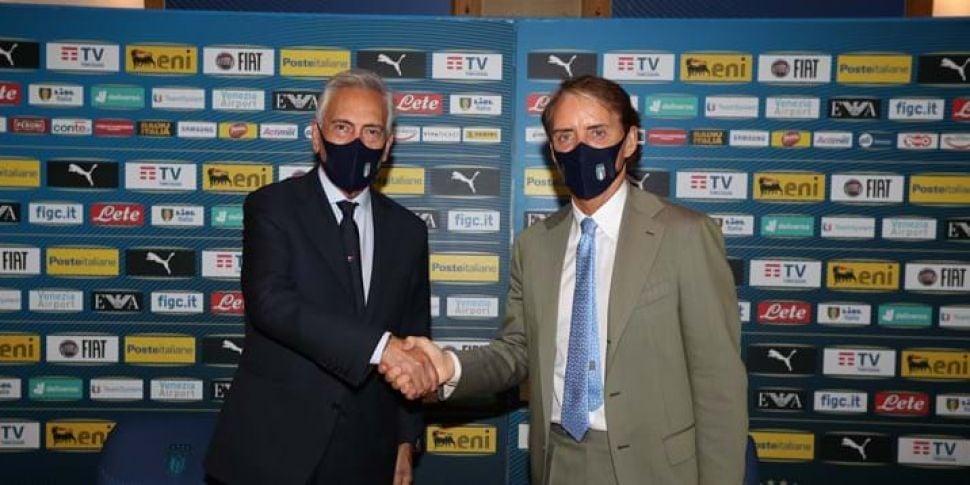 Mancini hopes for a little luc...