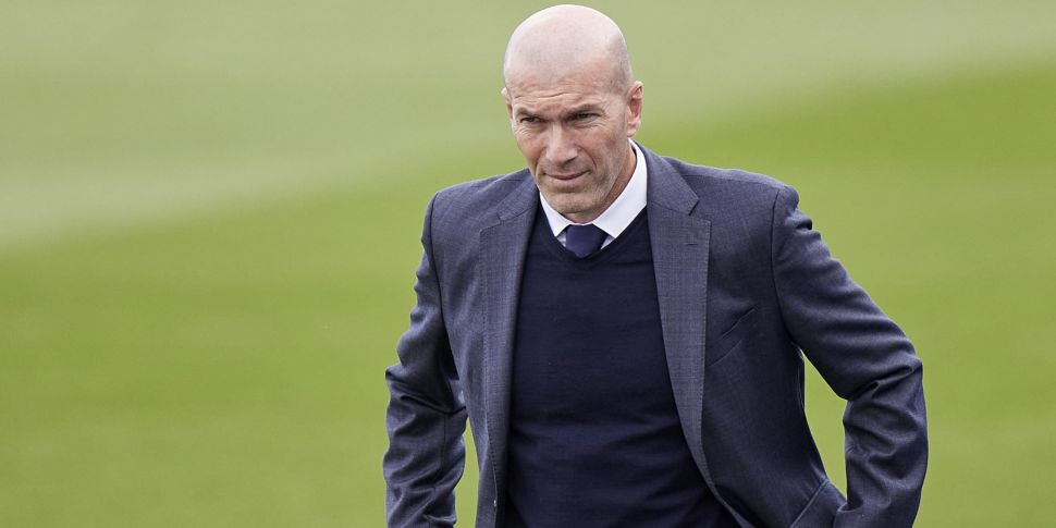 Zinedine Zidane ends second sp...