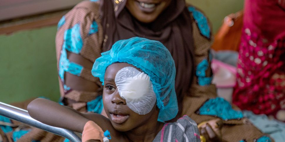 Can You Help Sightsavers Give...
