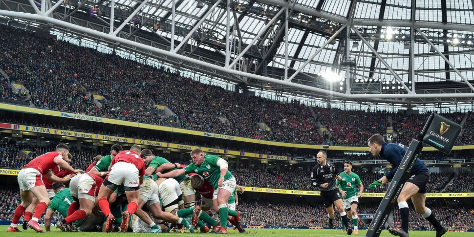 IRFU confirm attendance number...