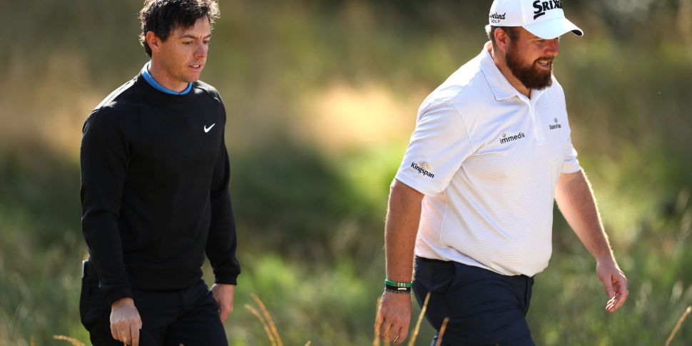 Lowry and McIlroy to represent...