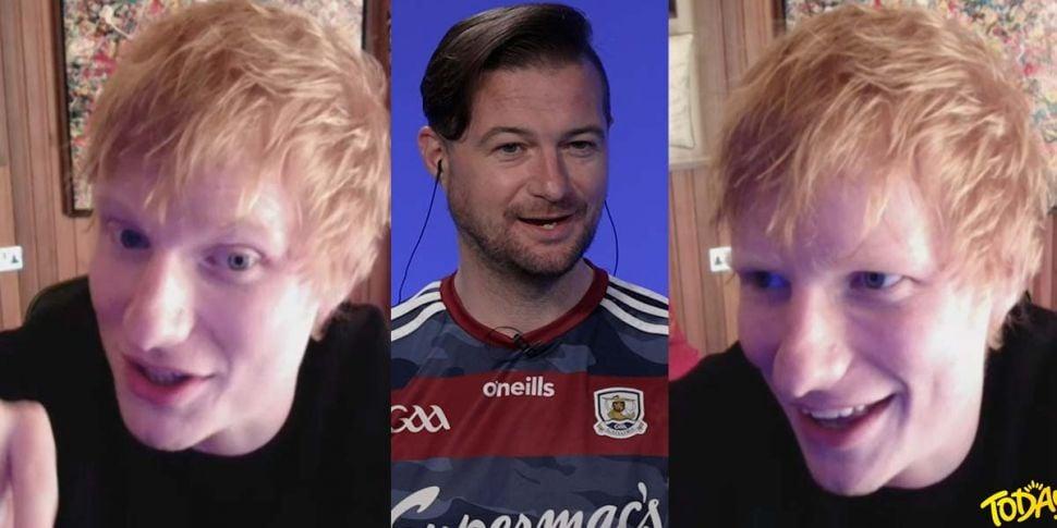 Ed Sheeran Talks About Sponsor...