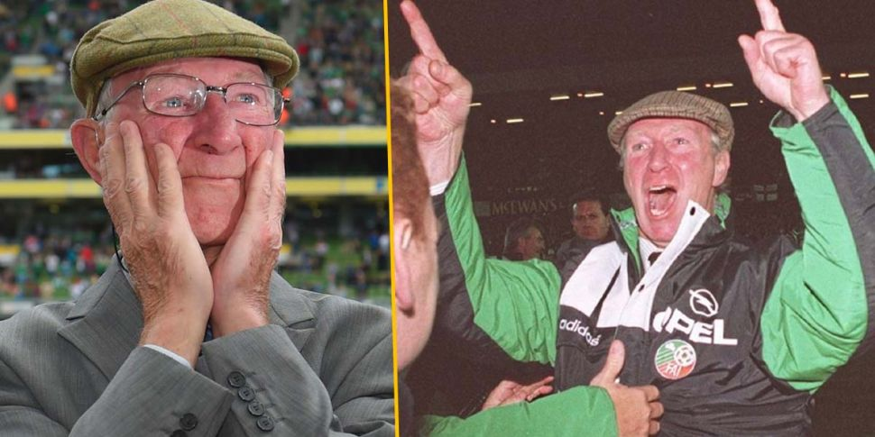 Former Ireland boss Jack Charl...