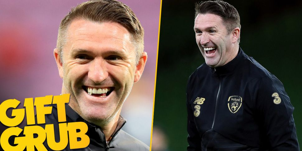 Gift Grub: Robbie Keane Spills...