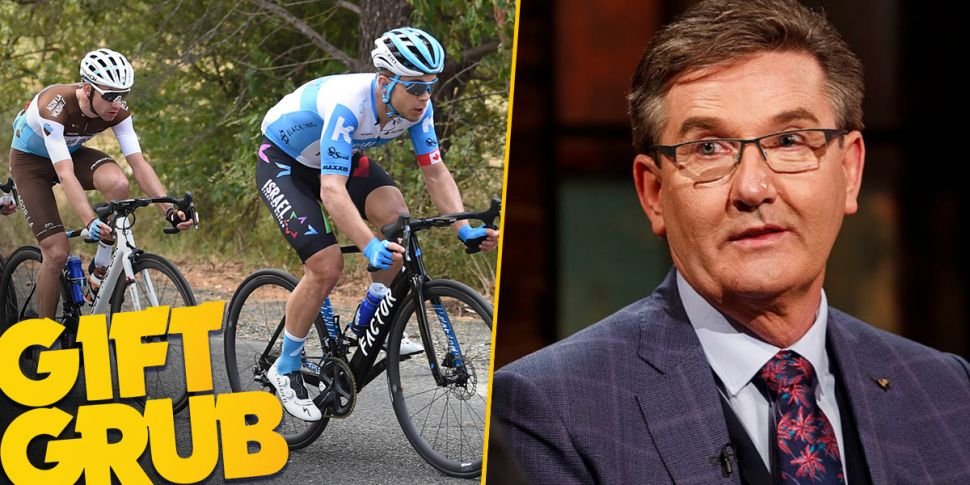 Gift Grub: Sweaty Cyclists Are...