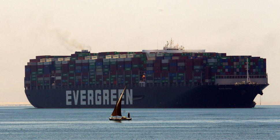 Vessel That Blocked The Suez C...