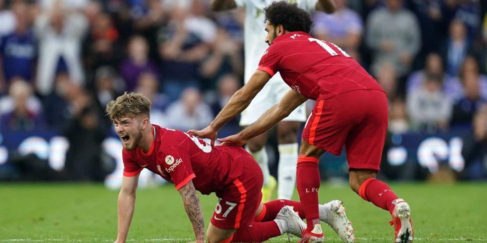 Liverpool expect Harvey Elliot...
