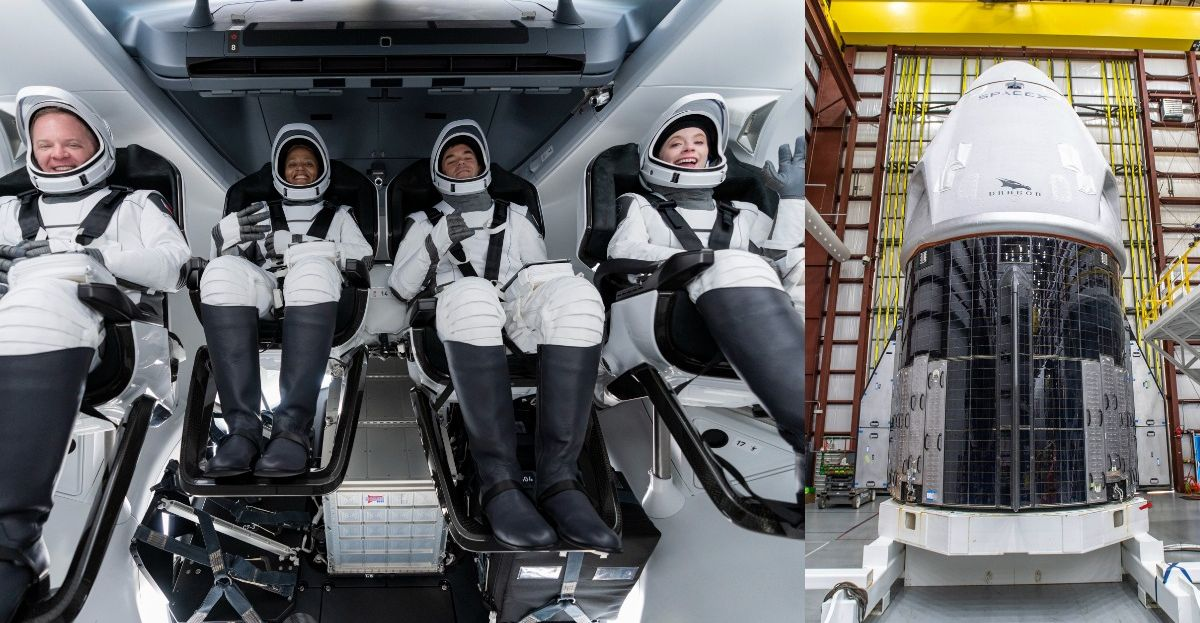 Meet The First All Civilian Crew Going To Space