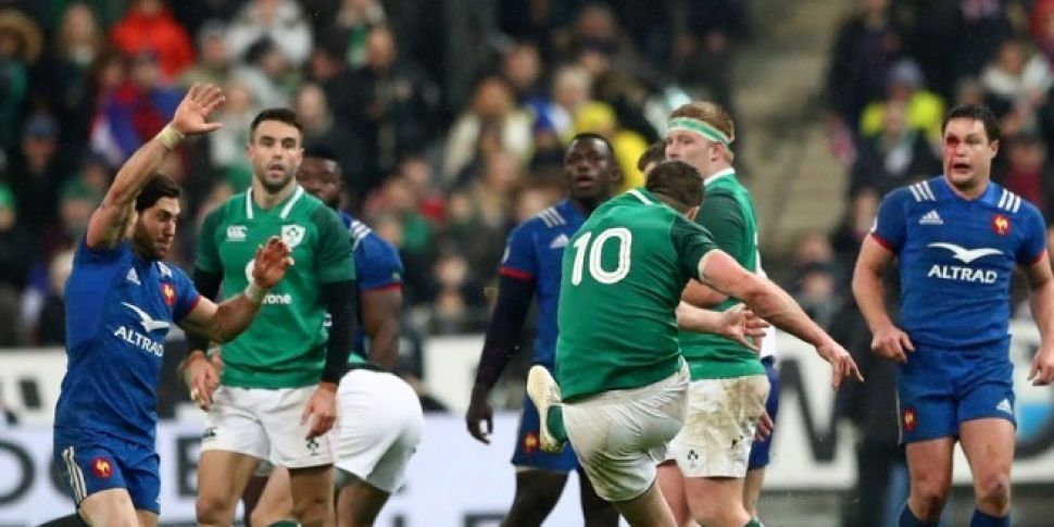 Ireland showed France too much...