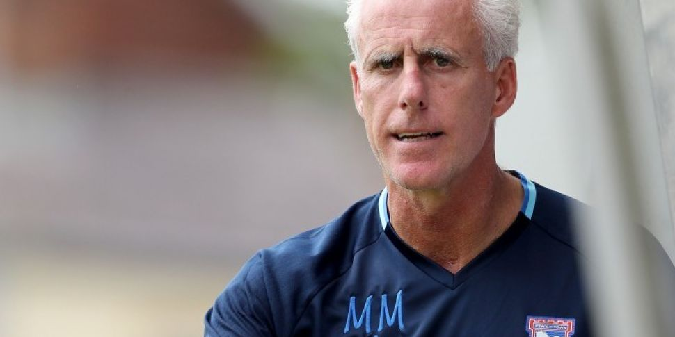 Mick McCarthy In The Market Fo...