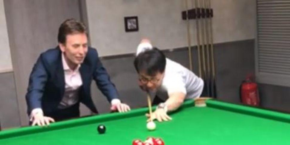 Video Of Ken Doherty Playing S...