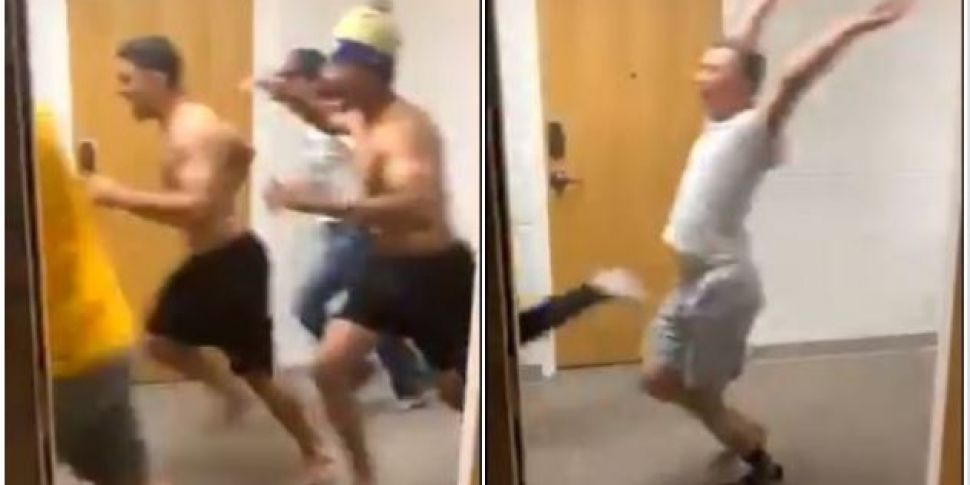 Video Shows Students Fleeing F...