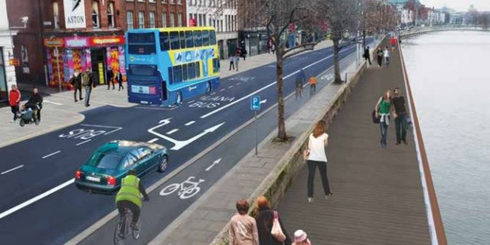 Plans Unveiled For Liffey Cycl...