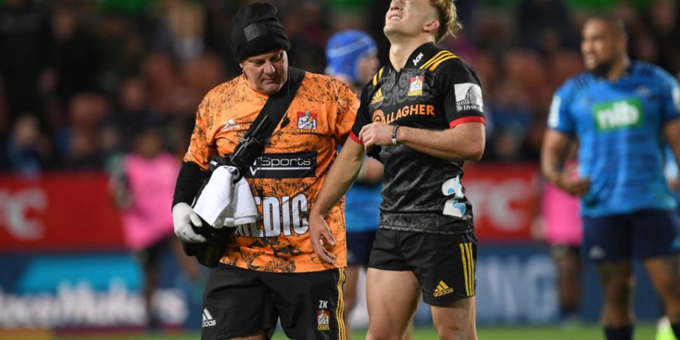 All Blacks' McKenzie ruled out...
