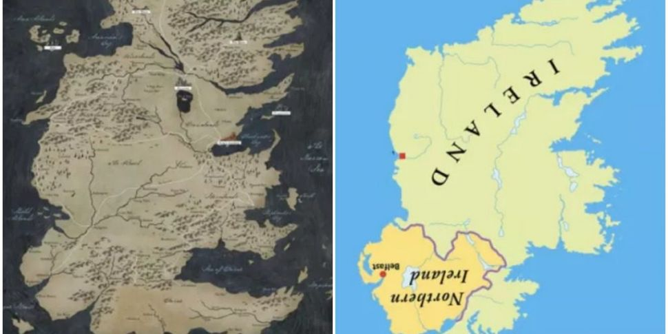 Game of Thrones: Westeros Is Actually An Upside Down Ireland Game Of Thrones Map The World on minecraft world map, my little pony friendship is magic world map, the last of us world map, rome world map, guild wars 2 world map, the amazing race world map, harry potter world map, world of warcraft interactive map, forgotten realms map, hyperdimension neptunia world map, the legend of korra world map, gta world map, lotr world map, skyrim world map, the elder scrolls online world map, thousand arms world map, steven universe world map, witcher 2 world map, port royale 3 world map,