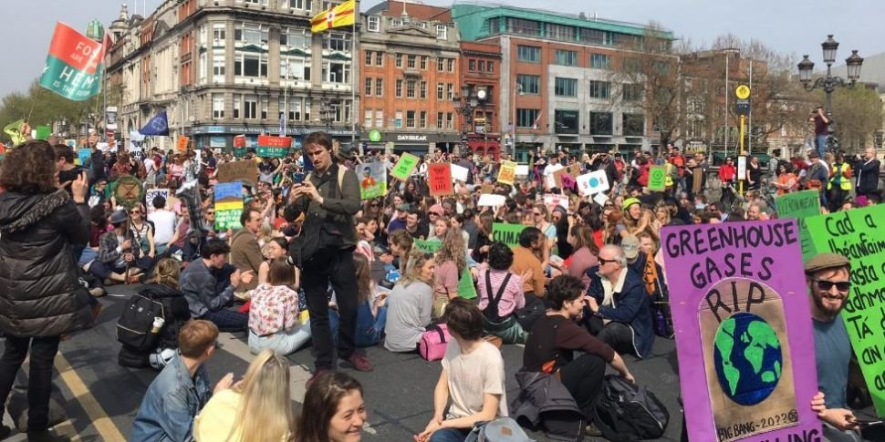 Hundreds Gather For Climate Ch...