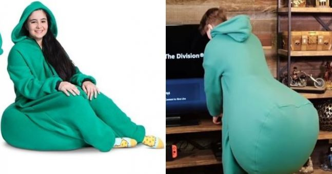 You Can Now Buy A Bean Bag Onesie For The Laziest Person