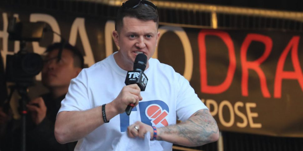 Tommy Robinson Jailed