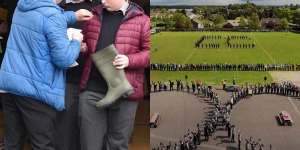 Offaly Students Break Welly To...