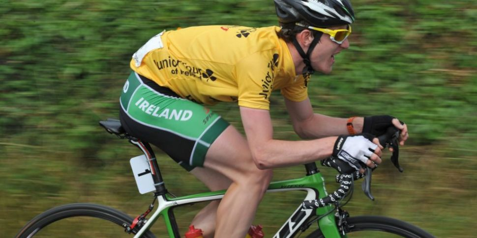 Ireland's Eddie Dunbar secures...