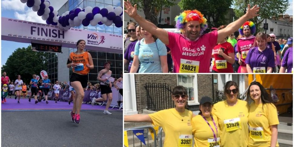 These Photos And Videos Of The The Vhi Womens Mini Marathon Will
