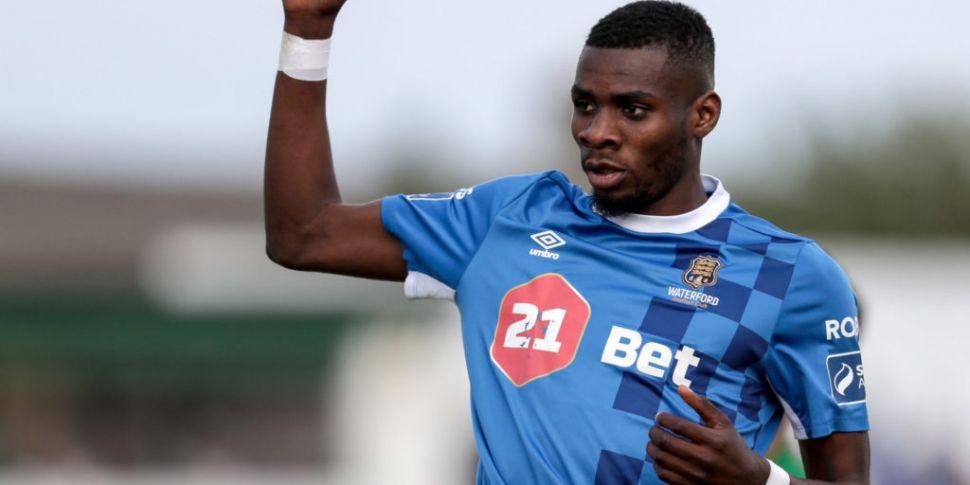 Akinade leaves Waterford FC