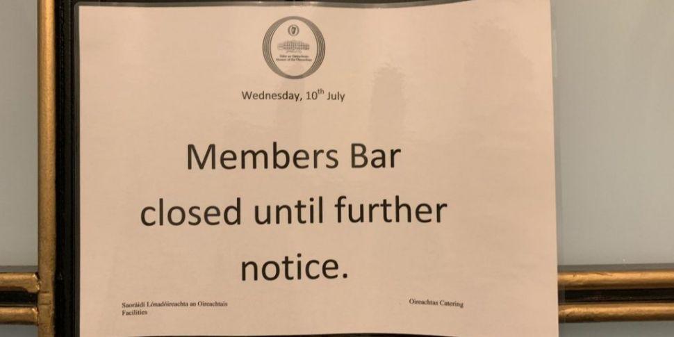 Dáil Bars Still Closed
