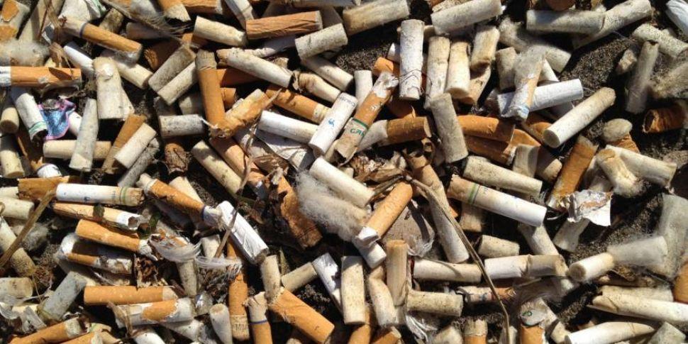 Cigarette Butts Make Up Half O...