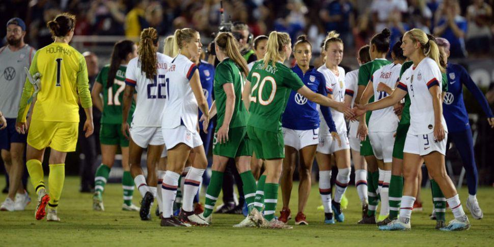 Republic of Ireland Women lose...
