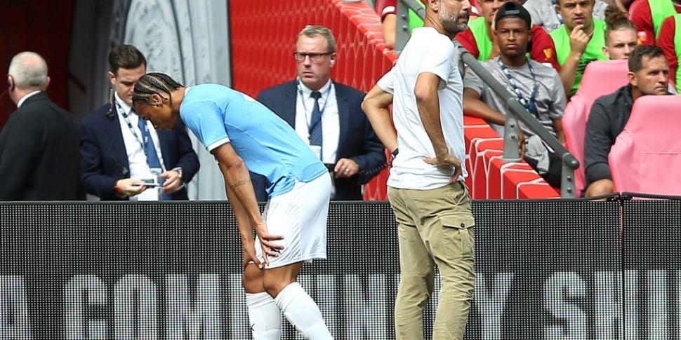 Guardiola says Leroy Sané's li...