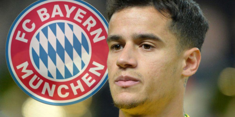 Bayern take Coutinho on loan