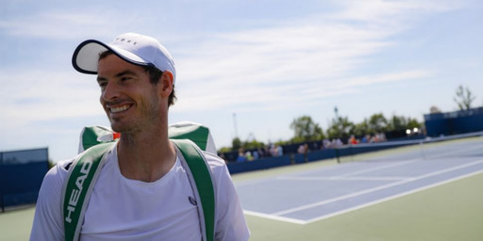 World number 325 Andy Murray r...