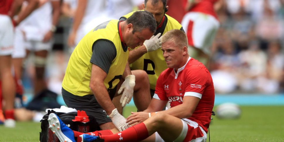 Wales lose Gareth Anscombe to...