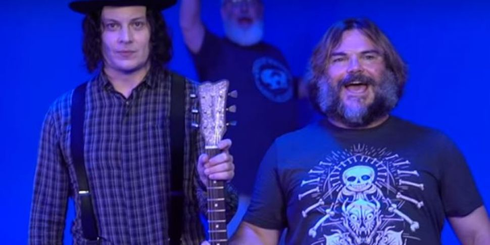 Jack White And Jack Black Coll...