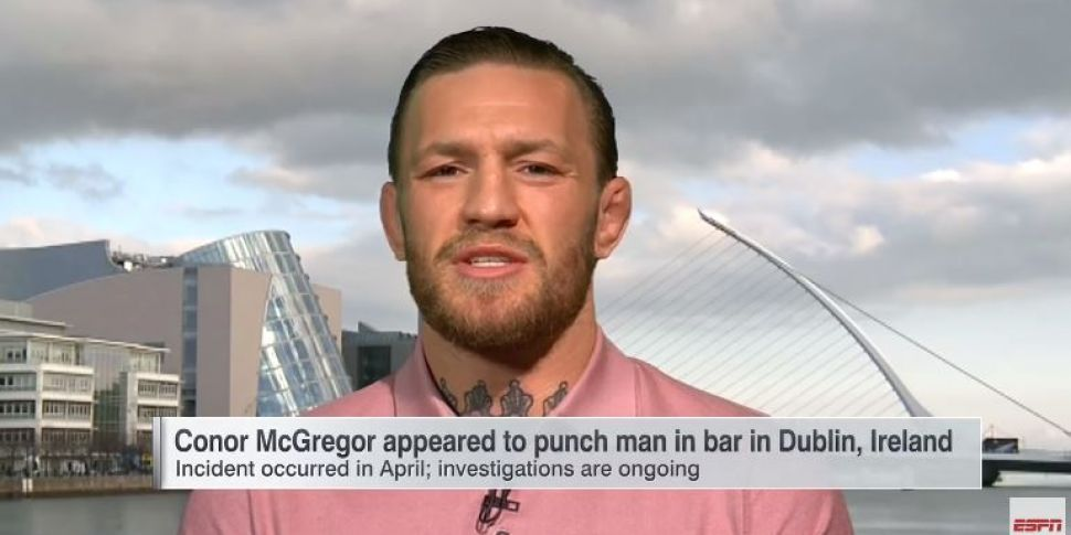 Conor McGregor Apologies For P...