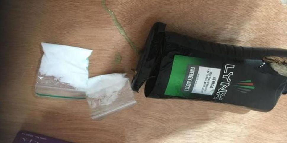 Gardai Seize Drugs Within Minu...