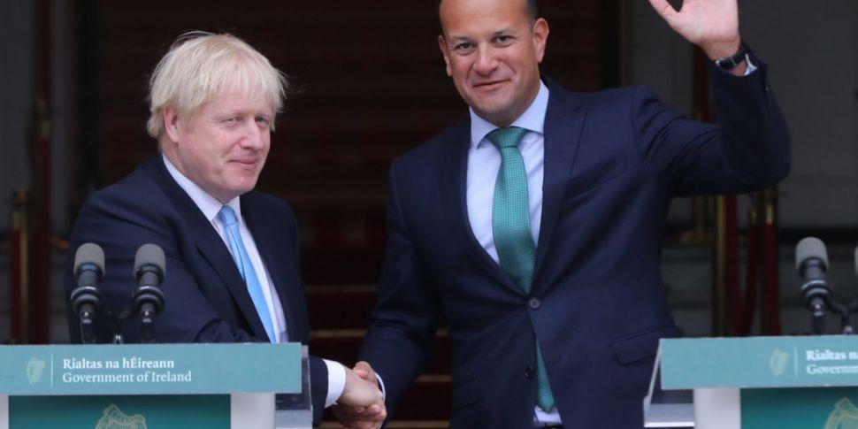 Taoiseach Meeting Boris Johnso...