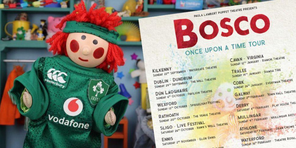 Bosco Has Just Announced A Hug...