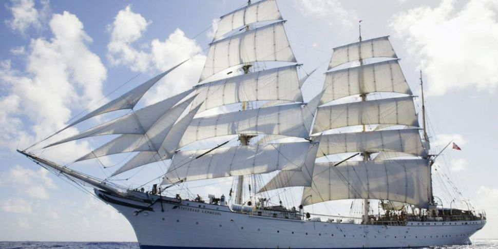 100 Year Old Tall Ship Open To...