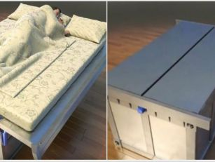 This Earthquake Proof Bed Is T...