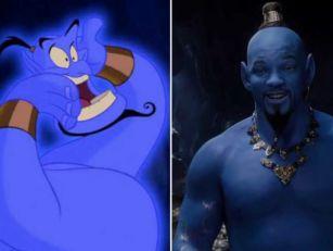 Watch Will Smith As Blue Genie...